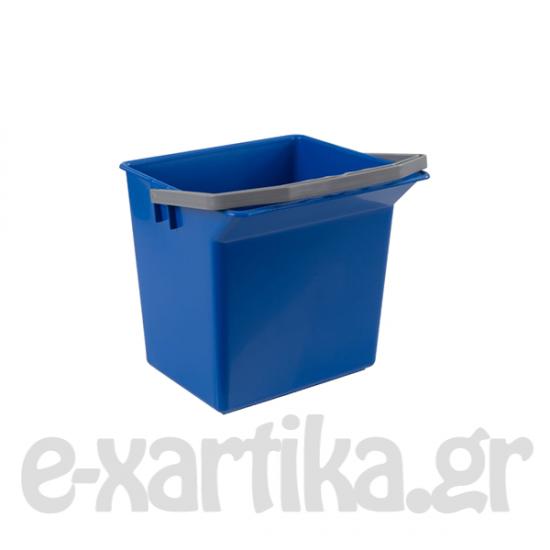 ΚΟΥΒΑΔΑΚΙ ΠΛΑΣΤΙΚΟ ΜΠΛΕ 9LT